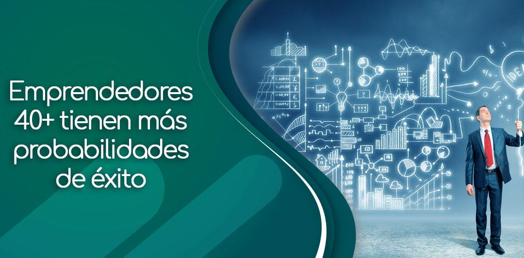 Omar Farías Luces: Emprendedores 40+ tienen más probabilidades de éxito
